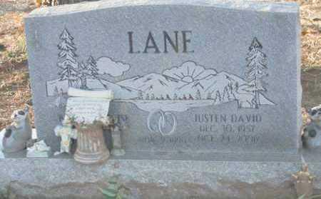 LANE, JUSTEN DAVID - Polk County, Arkansas | JUSTEN DAVID LANE - Arkansas Gravestone Photos