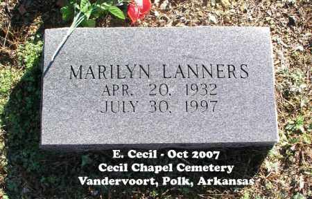 LANNERS, MARILYN - Polk County, Arkansas | MARILYN LANNERS - Arkansas Gravestone Photos