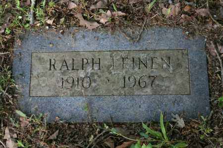 LEINEN, RALPH - Polk County, Arkansas | RALPH LEINEN - Arkansas Gravestone Photos