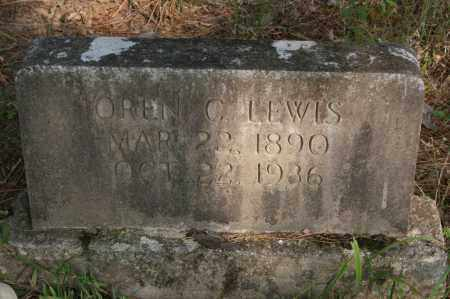LEWIS, OREN C. - Polk County, Arkansas | OREN C. LEWIS - Arkansas Gravestone Photos