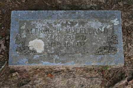 MCLELLAND, ALFRED B. - Polk County, Arkansas | ALFRED B. MCLELLAND - Arkansas Gravestone Photos