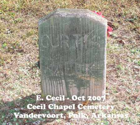 MEEK, CURTIS - Polk County, Arkansas | CURTIS MEEK - Arkansas Gravestone Photos