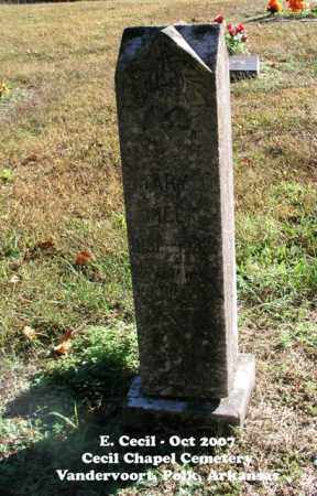 MEEK, MARY J. - Polk County, Arkansas | MARY J. MEEK - Arkansas Gravestone Photos