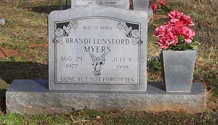 LUNSFORD MYERS, BRANDI - Polk County, Arkansas | BRANDI LUNSFORD MYERS - Arkansas Gravestone Photos