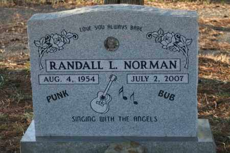 NORMAN, RANDALL L. - Polk County, Arkansas | RANDALL L. NORMAN - Arkansas Gravestone Photos