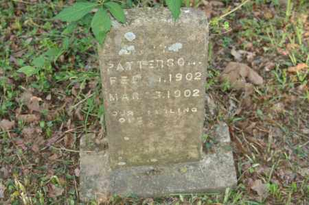 PATTERSON, BABY - Polk County, Arkansas | BABY PATTERSON - Arkansas Gravestone Photos