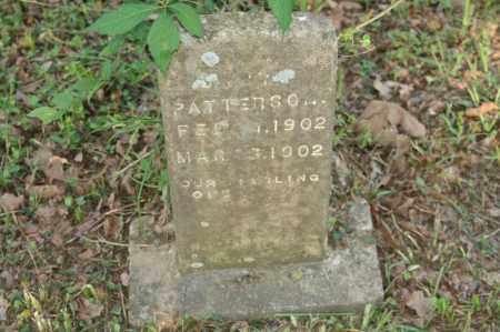 PATTERSON, BABY - Polk County, Arkansas | BABY PATTERSON - Arkansas Gravestone Photos