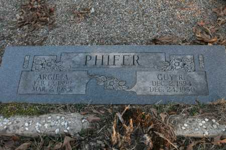 PHIFER, GUY R. - Polk County, Arkansas | GUY R. PHIFER - Arkansas Gravestone Photos