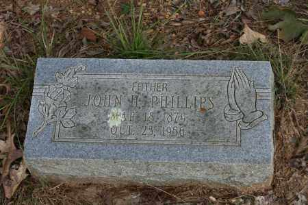 PHILLIPS, JOHN H. - Polk County, Arkansas | JOHN H. PHILLIPS - Arkansas Gravestone Photos