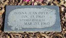 PIPER, DONNA JEAN - Polk County, Arkansas | DONNA JEAN PIPER - Arkansas Gravestone Photos