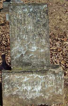 POSEY, MRS  SEBORN - Polk County, Arkansas | MRS  SEBORN POSEY - Arkansas Gravestone Photos