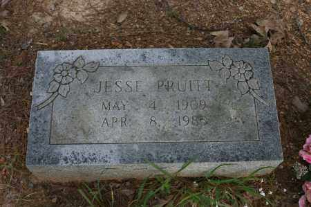 PRUITT, JESSE - Polk County, Arkansas | JESSE PRUITT - Arkansas Gravestone Photos