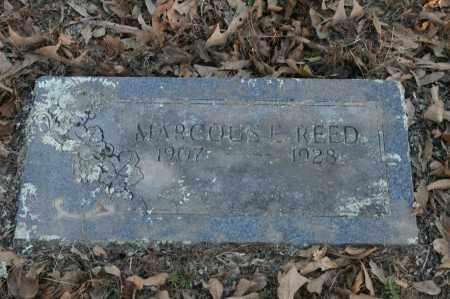REED, MARCOUS L. - Polk County, Arkansas | MARCOUS L. REED - Arkansas Gravestone Photos