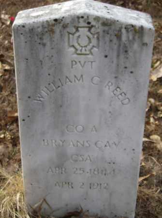 REED (VETERAN CSA), WILLIAM CARROLL - Polk County, Arkansas   WILLIAM CARROLL REED (VETERAN CSA) - Arkansas Gravestone Photos