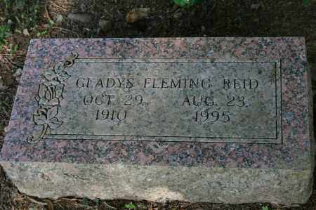 FLEMING REID, GLADYS - Polk County, Arkansas | GLADYS FLEMING REID - Arkansas Gravestone Photos