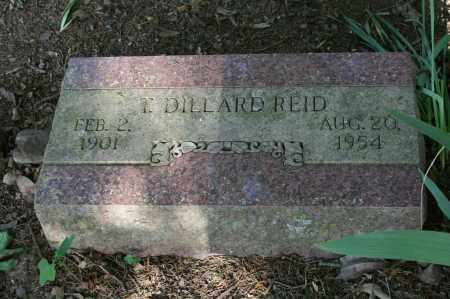 REID, T. DILLARD - Polk County, Arkansas | T. DILLARD REID - Arkansas Gravestone Photos