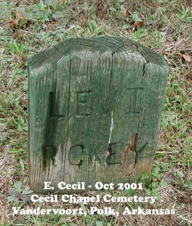 RICKEY, LEVI - Polk County, Arkansas   LEVI RICKEY - Arkansas Gravestone Photos