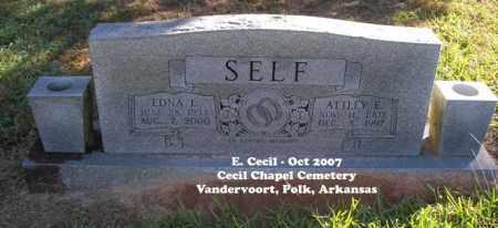 SELF, EDNA L. - Polk County, Arkansas | EDNA L. SELF - Arkansas Gravestone Photos
