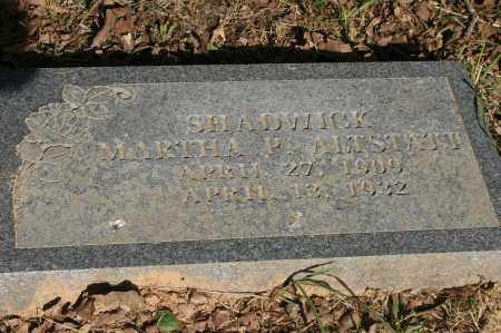SHADWICK, MARTHA P. - Polk County, Arkansas | MARTHA P. SHADWICK - Arkansas Gravestone Photos