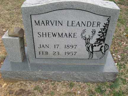 SHEWMAKE, MARVIN LEANDER - Polk County, Arkansas | MARVIN LEANDER SHEWMAKE - Arkansas Gravestone Photos