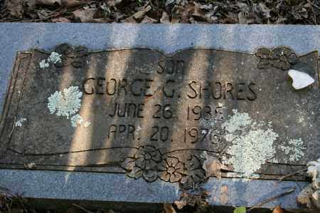 SHORES, GEORGE G. - Polk County, Arkansas | GEORGE G. SHORES - Arkansas Gravestone Photos