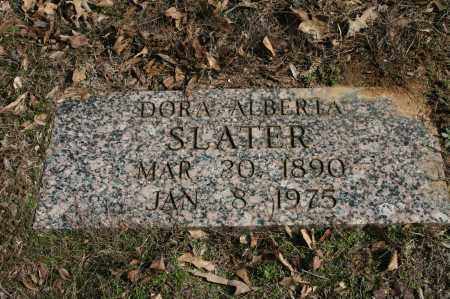 SLATER, DORA ALBERTA - Polk County, Arkansas | DORA ALBERTA SLATER - Arkansas Gravestone Photos