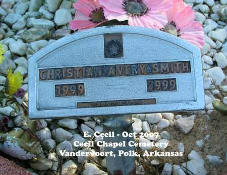 SMITH, CHRISTIAN AVERY - Polk County, Arkansas | CHRISTIAN AVERY SMITH - Arkansas Gravestone Photos