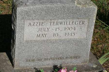 TERWILLEGER, AZZIE - Polk County, Arkansas | AZZIE TERWILLEGER - Arkansas Gravestone Photos
