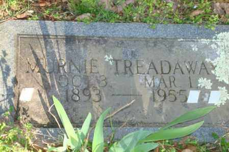 RAY TREADAWAY, MURINE (MURNIE) - Polk County, Arkansas | MURINE (MURNIE) RAY TREADAWAY - Arkansas Gravestone Photos