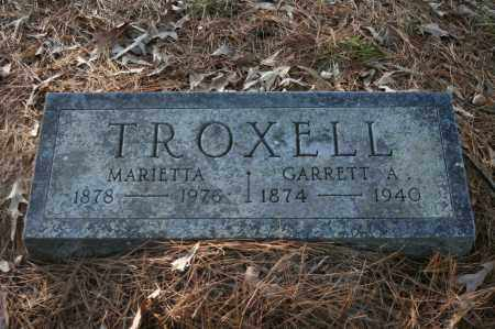 TROXELL, MARIETTA - Polk County, Arkansas | MARIETTA TROXELL - Arkansas Gravestone Photos