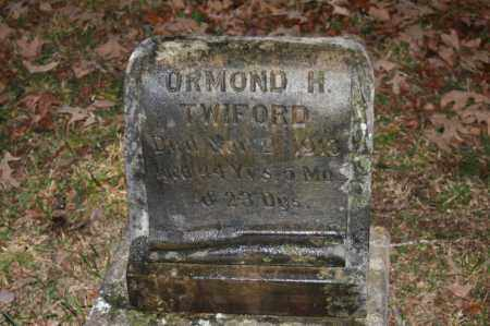 TWIFORD, ORMOND H. - Polk County, Arkansas | ORMOND H. TWIFORD - Arkansas Gravestone Photos