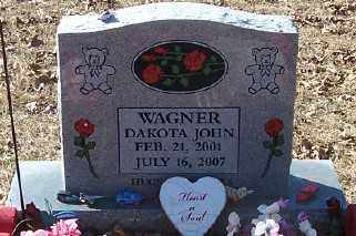WAGNER, DAKOTA JOHN - Polk County, Arkansas | DAKOTA JOHN WAGNER - Arkansas Gravestone Photos
