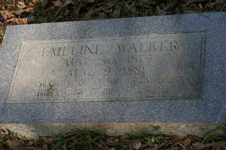 WALKER, EMELINE - Polk County, Arkansas | EMELINE WALKER - Arkansas Gravestone Photos