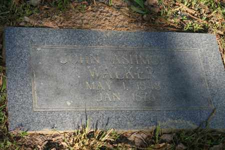 WALKER, JOHN ASHMORE - Polk County, Arkansas | JOHN ASHMORE WALKER - Arkansas Gravestone Photos