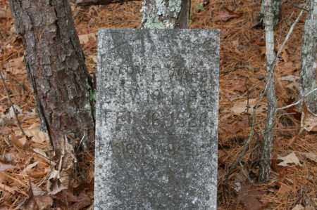 WARD, MARY E. - Polk County, Arkansas | MARY E. WARD - Arkansas Gravestone Photos