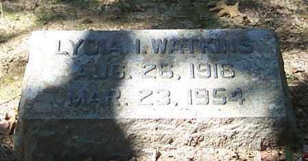 WATKINS, LYDIA I. - Polk County, Arkansas | LYDIA I. WATKINS - Arkansas Gravestone Photos