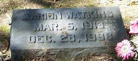 WATKINS, MARION - Polk County, Arkansas | MARION WATKINS - Arkansas Gravestone Photos