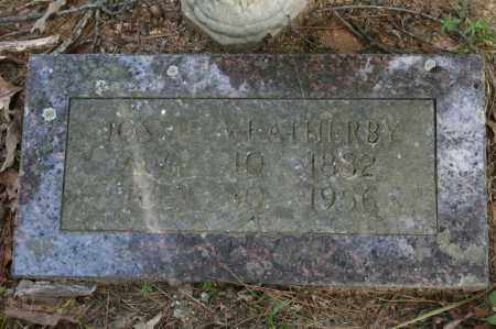 WEATHERBY, JOSSIE - Polk County, Arkansas | JOSSIE WEATHERBY - Arkansas Gravestone Photos