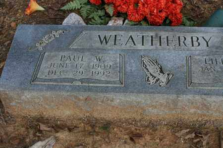 WEATHERBY, PAUL W. - Polk County, Arkansas | PAUL W. WEATHERBY - Arkansas Gravestone Photos
