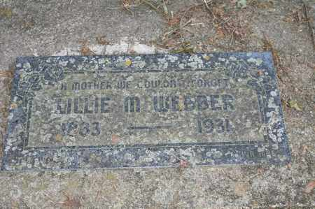 WEBBER, LILLIE M. - Polk County, Arkansas | LILLIE M. WEBBER - Arkansas Gravestone Photos