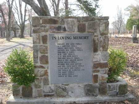 *WHITE OAK MEMORIAL,  - Polk County, Arkansas |  *WHITE OAK MEMORIAL - Arkansas Gravestone Photos