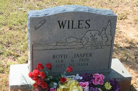 WILES, BOYD JASPER - Polk County, Arkansas | BOYD JASPER WILES - Arkansas Gravestone Photos