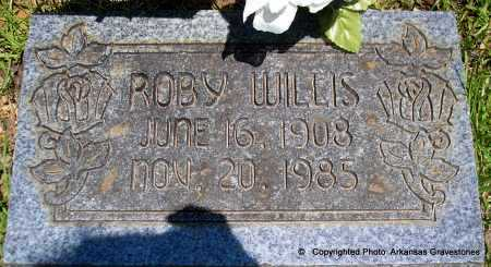 WILLIS, ROBY - Polk County, Arkansas | ROBY WILLIS - Arkansas Gravestone Photos