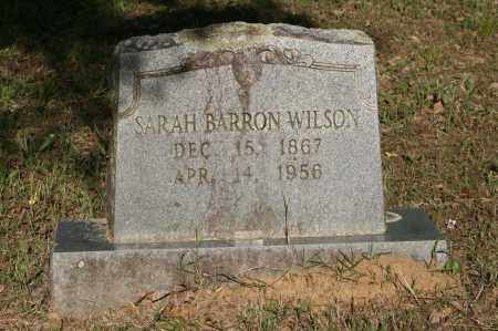BARRON WILSON, SARAH - Polk County, Arkansas | SARAH BARRON WILSON - Arkansas Gravestone Photos