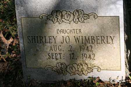 WIMBERLY, SHIRLEY JO - Polk County, Arkansas | SHIRLEY JO WIMBERLY - Arkansas Gravestone Photos