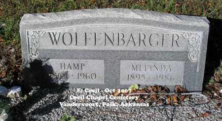 WOLFENBARGER, HAMP - Polk County, Arkansas | HAMP WOLFENBARGER - Arkansas Gravestone Photos