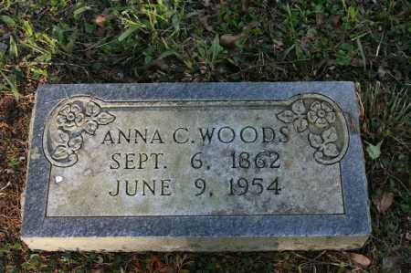 WOODS, ANNA C. - Polk County, Arkansas | ANNA C. WOODS - Arkansas Gravestone Photos