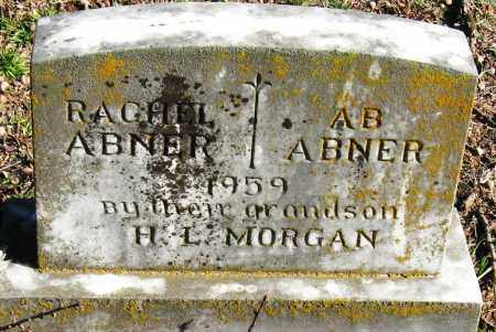 ABNER, A  B - Pope County, Arkansas | A  B ABNER - Arkansas Gravestone Photos