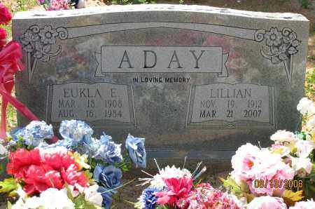 ADAY, LILLIAN - Pope County, Arkansas | LILLIAN ADAY - Arkansas Gravestone Photos