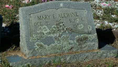 ALEWINE, MARY E - Pope County, Arkansas | MARY E ALEWINE - Arkansas Gravestone Photos
